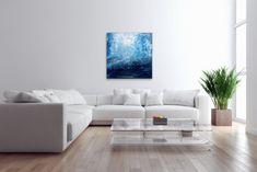 A magnificent painting by Tanya. #contemporaryart #painting #water #ocean #deepwaters #blue #interiordecor #wallart #homeinterior #officeinterior Coastal Homes, Coastal Decor, Beach Photography, Fine Art Photography, Abstract Photography, Artistic Photography, Rhode Island, Blue Canvas, Canvas Wall Art