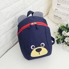 Easyflower Lovely Backpack Gift Cartoon Animal Small Schoolbag Rope Puppy Children Snacks Backpack Green