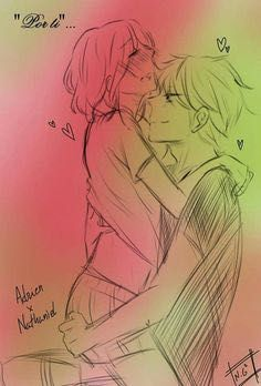 Miraculous(Cortos) by with 736 reads. Anime Couples Drawings, Anime Couples Manga, Cute Anime Couples, Miraculous Ladybug Kiss, Miraculous Ladybug Wallpaper, Cute Couple Comics, Couples Comics, Miraclous Ladybug, Ladybug Comics