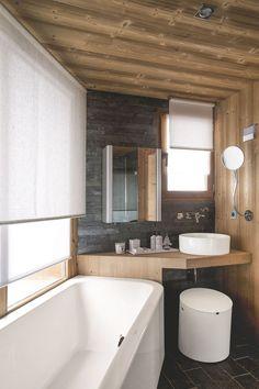 Déco salle de bain : les matériaux nobles ont la vedette - Côté Maison