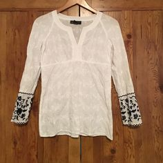Selling this Inc. white top in my Poshmark closet! My username is: urbanyoke. #shopmycloset #poshmark #fashion #shopping #style #forsale #INC International Concepts #Tops