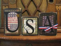 USA Sign by PunkinSeedProduction on Etsy, $18.00