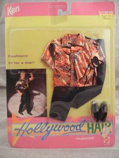 1992 Ken - Hollywood Hair #3767