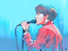 6,618 vind-ik-leuks, 63 reacties - ArianaH (@arianah00) op Instagram: 'Jhope ❤️ I did this really fast cause Im so busy but I still wanted to draw him to celebrate his…'