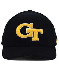 Nike Georgia Tech Yellow Jackets Classic Swoosh Cap - Black M/L