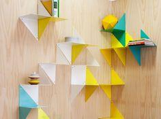 Etagere origami adonde