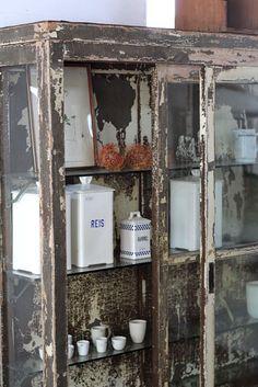 shelf, junk style, shabby, vintage