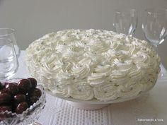 saboreando a vida: Bolo de Festa com Camadas Verticais e .... Feliz 2012!