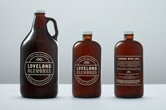 It's Nice That : Manual create beautiful identity for Colorado microbrewery Loveland
