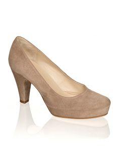 teststset Shops, Kitten Heels, Peep Toe, Lisa, Beige, Fashion, Keep Running, Mariage, Moda
