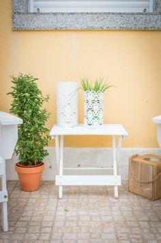 Tânia Martins | Exteriores | Outdoor | Garden | Jardim | Plants | Plant Pots | Candle