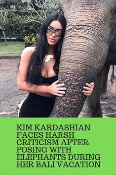The famous Kim Kardashian Faces Harsh Criticism After Posing With Elephants During Her Bali Vacation Cute Animals Images, Funny Animals, Baby Animals, Angelina Jolie Now, Dog Clicker Training, Dog Training, Trending Celebrity News, News Logo, Blake Shelton And Gwen