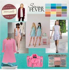 De nieuwe kleuren en trends voor de lente.