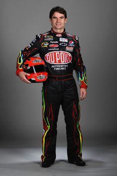Jeff Gordon, suited up!!