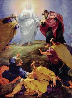 Transfiguration (1596), Giovanni Battista Paggi (1554–1627), Basilica San Marco, Florence, Italy.