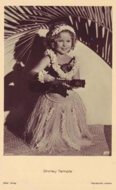 Shirley Temple hula girl