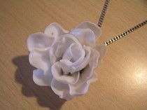 Plastic Spoon Rose