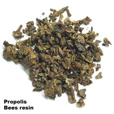 Propolis  Propolis has antibacterial and antiviral effects, regenerates tissue and reduces pain.  In addition to resin, wax, essential oils and floral powders, propolis contains series of active ingredients such as bioflavonoids, amino acids, vitamins A, B, C and minerals, and gives excellent results in the case of a weakened immune system and respiratory infections.