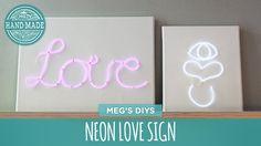 Neon Love Sign - HGTV Handmade