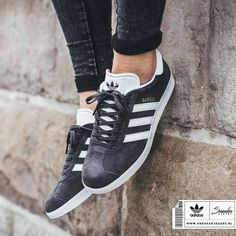 NWOT Gazelle Sneakers Color is exactly what's shown in the photo!- off black/dark gray. Women's size adidas Shoes Sneakers Cool Adidas Shoes, Adidas Sneakers, Shoes Sneakers, Adidas Fashion, Sneakers Fashion, Fashion Shoes, Adidas Gazelle Grey, Sock Shoes, Shoe Boots