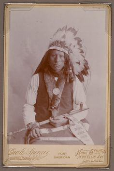 Jack Red Cloud, son of the great Chief, Red Cloud.