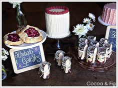 Heavenly Buttercream Cake Trio | A fun and welcoming presentation.  ~cam