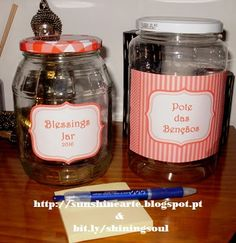 ShiningSoul: Blessings Jar / Pote das Bençãos