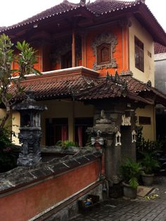 A Balinese house in #Seminyak #Bali