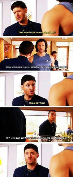 Dean's face!! Lol!!!