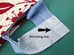 Easy trick to perfectly join quilt binding - So Sew Easy