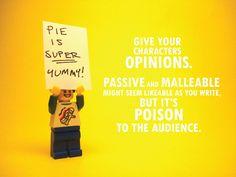Pixar's Golden Storytelling Rules Illustrated in Legos