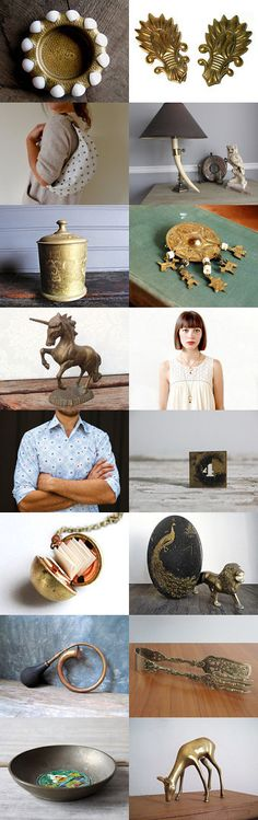 Bold as Brass by Jessica on Etsy--Pinned with TreasuryPin.com