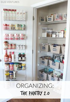Beau A Beautiful Pantry Makeover With #ClosetMaid! Check Out The Before And  After Pictures Now