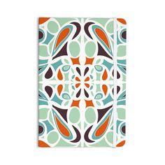 "Miranda Mol ""Orange Purple Stained Glass"" Everything Notebook"