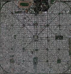 City Art From Above - La Plata - Beunos Aires, Argentina.