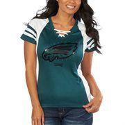 Women's '47 Brand Midnight Green Philadelphia Eagles Replay Maxi ...