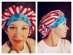Bouffant Surgical Scrub Hat Pattern