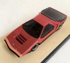 Alfa Romeo Carabo Concept Bertone, Tecnomodel T-EX35B Resin 1/43