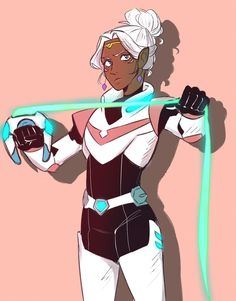 Princess Allura the Pink Paladin of Voltron from Voltron Legendary Defender