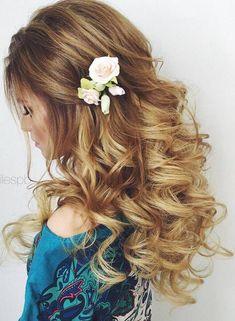 Elstile wedding hairstyles for long hair 16 - Deer Pearl Flowers / http://www.deerpearlflowers.com/wedding-hairstyle-inspiration/elstile-wedding-hairstyles-for-long-hair-16/