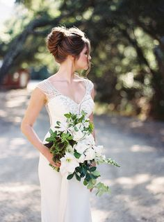 Elegant wedding dres