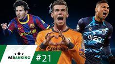 OS 10 GOLAÇOS DAS OITAVAS DA CHAMPIONS LEAGUE - VSRanking #21