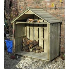 Small Log Store (4ft wide)