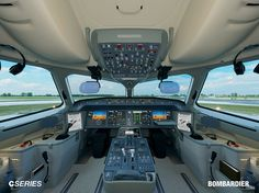 Bombardier C Series Flight Deck