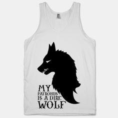 My Patronus is a Dire Wolf