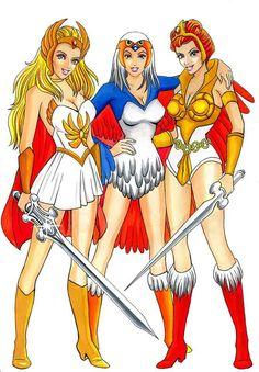 characters She ra power princess of