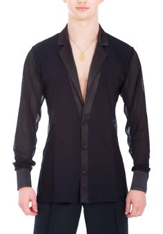 DSI Aaron Latin Dance Shirt 4041| Dancesport Fashion @ DanceShopper.com