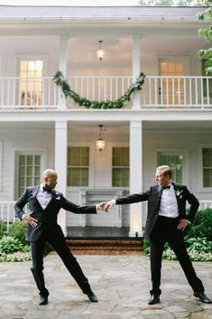Same-Sex-Southern-Wedding-Inspiration-by-Jenna-Henderson-and-Cedarwood-Weddings-28 Set the mood right by planning your won wedding music with this crash course! #bridalmusings #bmloves #DJ #music #weddingmusic #firstdance #lovesongs #dancesongs Wedding Dinner Music, Wedding First Dance, Lgbt Wedding, Wedding Songs, Wedding Videos, Wedding Photos, Wedding Reception, Wedding Bells, Wedding Venues