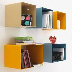 Set of 3 Ciok Shelves - Blue - alt_image_three