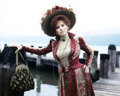 HELLO DOLLY in front of what i believe is the Hudson River as part of the movie was filmed in NY